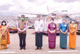 Second batch of anti-COVID-19 equipment donated by Indian Gov't arrives in Myanmar
