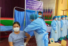 First COVID-19 vaccine doses administered in Rikhawdar