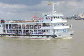 Yangon water ferry schedule amended for convenience of passengers