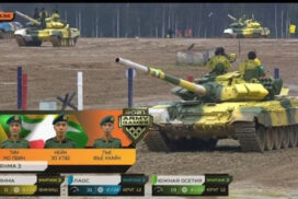 Tank Troop of Myanmar Tatmadaw deservedly sails into final in Tank Biathlon (Division-2) of International Army Games-2021