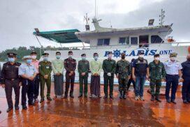 Myanmar returns seized Polaris One fishing boat to Thailand