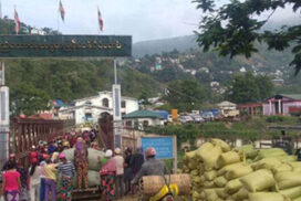 Myanmar-India border trade up this FY