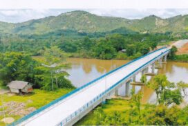 Construction of Bawdikan Bridge over Ngawun River completed