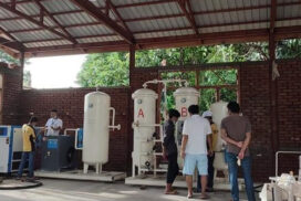 Oxygen generator plant construction in Mawlaik completed by 75%