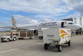 Hong Kong-Macao-Yangon relief flight to be operated in October for Myanmar returnees
