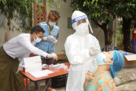 COVID-19 tests and fever surveillance activities accelerated in Nay Pyi Taw