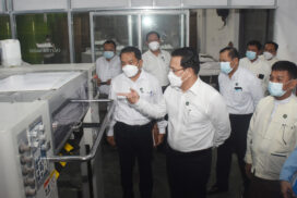 Union Information Minister inspects Photolitho Printing Press, meets Myanmar Press Council