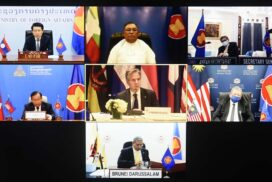 Union Minister U Wunna Maung Lwin participates in ASEAN-U.S. Foreign Ministers' Meeting  on sidelines of 76th Session of UNGA via videoconference