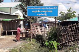 IDPs in Kyauktaw township receive first jabs of COVID-19 vaccine