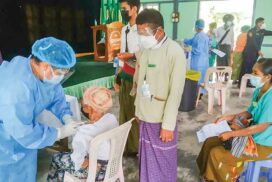 Over 2 mln people in Myanmar fully vaccinated against COVID-19