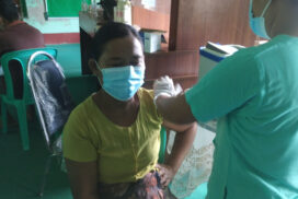 Final day of second jabs conducted in Yathedaung Township