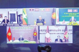 13th Cambodia - Lao PDR - Myanmar – Viet Nam Economic Ministers' Meeting held