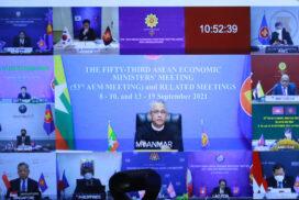 ASEAN Economic Ministers' Meetings with China, Korea, Switzerland and Plus Three Economic Ministers and Mekong-Japan Economic Ministers' Meeting held