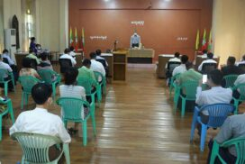 MIFER Union Minister inspects investment projects in North Okkalapa, Hlinethaya Townships