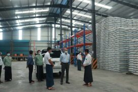Union MIFER Minister visits investment projects in Yangon Region, inspects acceptance procedures of Covid-19 loan applications