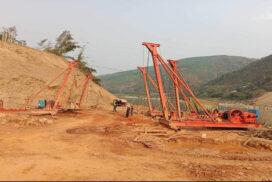 Kunlong Bridge project on Hsenwi-Kunlong-Chinshwehaw Road completed by 25%