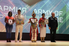Tatmadaw cultural troupe wins one first prize, two second prizes and one third prize in Int'l Army Games-2021 held in Russia