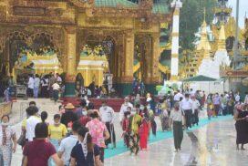 Over 450,000 pilgrims visit Shwedagon Pagoda during COVID-19 period