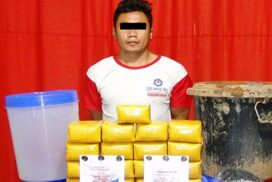K170 million worth of ecstasy tablets confiscated in Kengtung, Shan State (East)