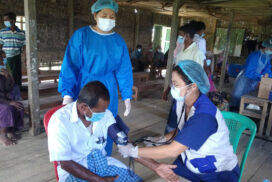 More than 1,400 people from IDP camps receive anti-COVID-19 vaccines