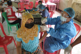 9,223 Buthidaung residents receive vaccine first jabs