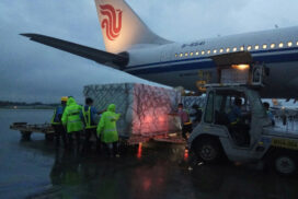 Four more million doses of Sinopharm COVID-19 vaccines purchased from China arrive in Yangon