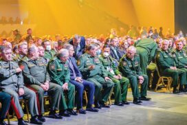 Vice-Chairman of State Administration Council Vice-Senior General Soe Win attends closing ceremony of International  Army Games-2021 in Russian Federation