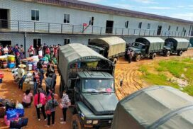 Officials arrange transport for 168 returnees from Laos, Thailand