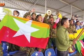 Myanmar Tank Squad secures third award in Tank Biathlon (Division-2) of Int'l Army Games-2021 among eight contestant squads