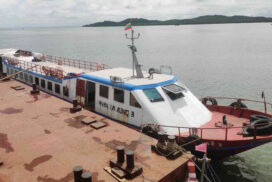 Myeik-Kyunsu ferry service resumes due to dropped number of COVID-19 cases