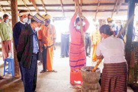 Union Minister for Hotels & Tourism visits Tourism Village  in Hsihseng