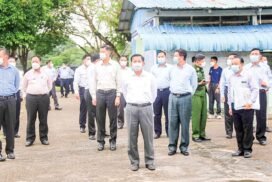 SAC Chairman Prime Minister Senior General Min Aung Hlaing inspects stadium, sports grounds in Yangon