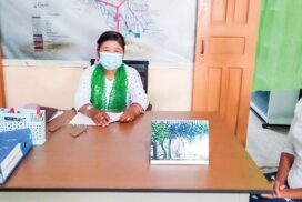 Heartbeat of Township Education Officer Daw Myint Aye on vaccinating 7,674 students  aged over 12 against COVID-19 at schools in Thanbyuzayat Township of Mon State