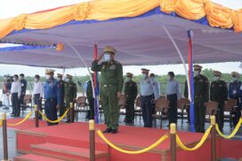 Myanmar's sea strategically standing in the region full of living and non-living resources is an opportune entity for serving the State interests: Senior General