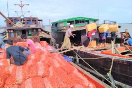 Two border trade posts in Rakhine State resume, opening business opportunities for fish farmers