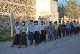 80 prisoners released from Mandalay Central Prison