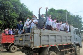 Prisoners/detainees pardoned to be released from Insein Central Prison