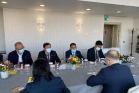 Union Minister for Electricity and Energy meets officials from ORGRES, Russian Chamber of Commerce