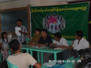 Election Kyauk Tan Township 1 06052014