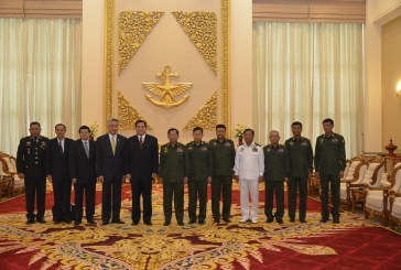 Commander-in-Chief receives Deputy Prime Minister of Thailand