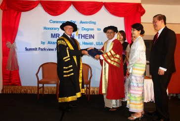 PhD in Educational Leadership conferred on former principal  of MMMC