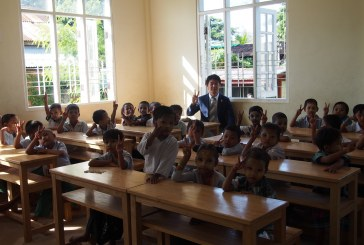 Japan grants school project in Bago Tsp