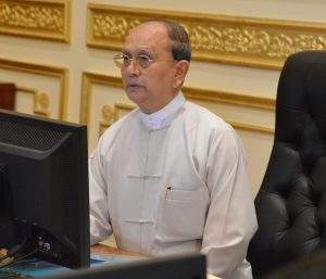 President U Thein Sein highlights spending budget  allocation to regions and states with  accountability,  responsibility and accessibility in transparent manner at the Financial Commission Meeting 3/2014