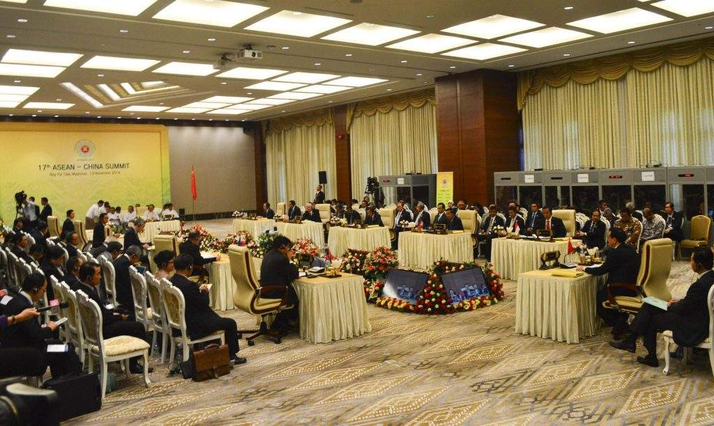 ASEAN and Chinese leaders gather at 17th ASEAN-China  Summit to discuss ways to seek new  areas of  cooperation.