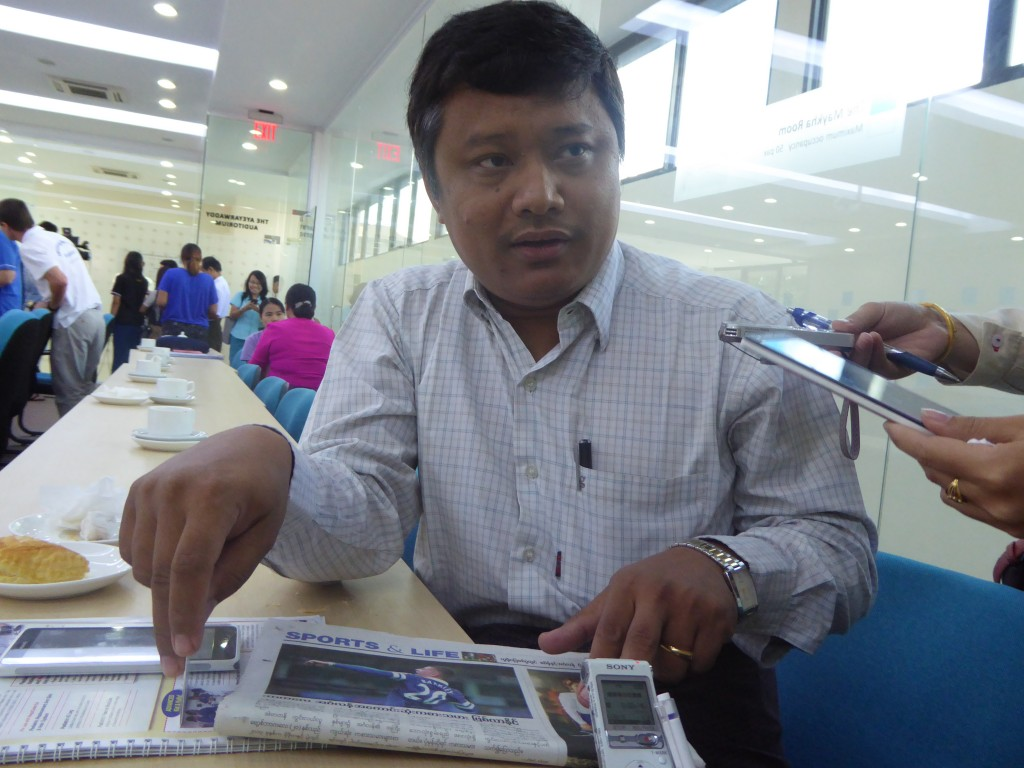 Dr Zaw Oo of Nay Pyi Taw General Hospital (1000-bed).—Photo: Khaing Thanda Lwin