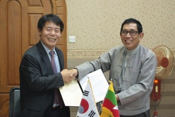 Implementation of South Korea-funded Myanmar Development Institute project to begin before year's end