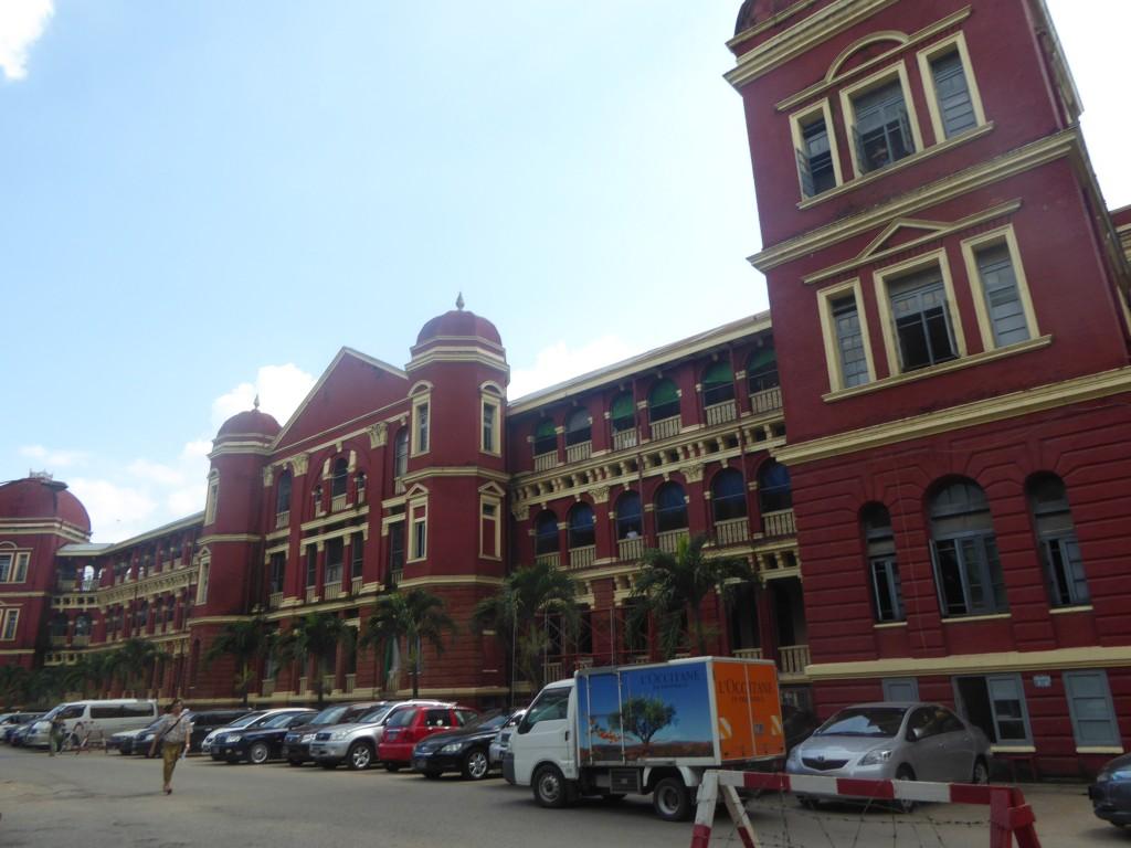 Yangon General Hospital.—Photo: Khaing Thanda Lwin