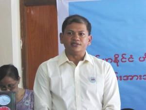 U Nyunt Win Naing, a professional trainer.