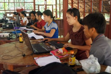 Rural youths study basic computer technology