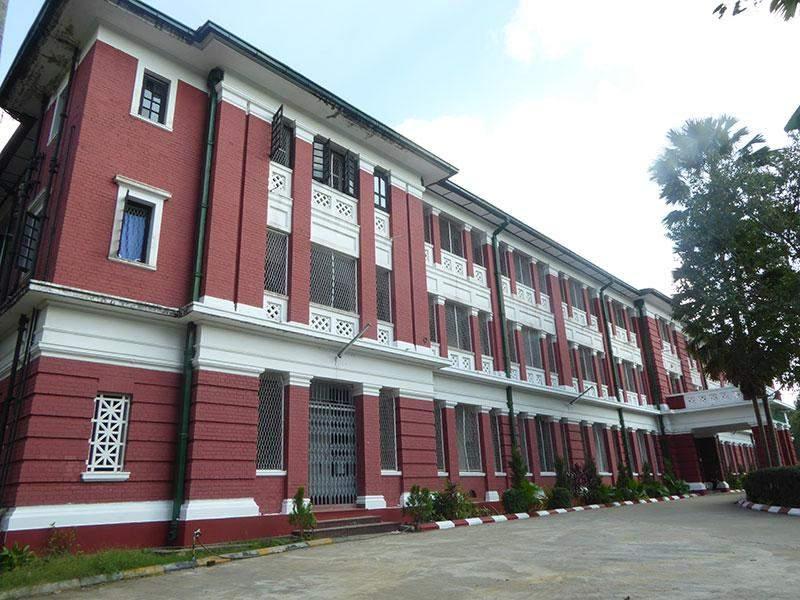 Already-reopened Thiri Hostel on the campus of Yangon University. Photo: Khaing Thanda Lwin